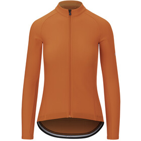 Giro Chrono LS Thermal Jersey Women vermillion